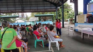 Distribution of Philhealth Cards to Different Barangays in Subic,Starting in Brgy Calapandayan (4)