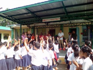 Distribution of School Kits in Cabitaugan,Cawag Resettlement and Cawag Proper Elementary School (2)