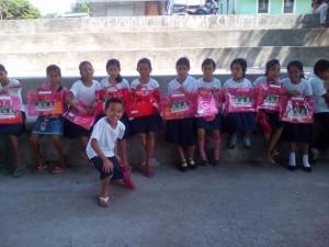 Distribution of School Kits in Nagyantok and Agusuhin Elementary School  (1)