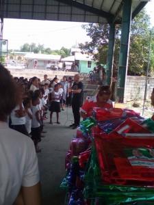 Distribution of School Kits in Nagyantok and Agusuhin Elementary School  (2)