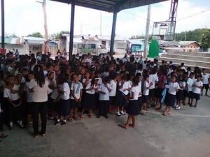 Distribution of School Kits in Nagyantok and Agusuhin Elementary School  (9)