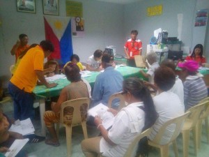 Distribution of Socialize Pension to our Beloved Senior citizen in Subic (1)