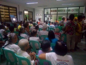 Distribution of Socialize Pension to our Beloved Senior citizen in Subic (6)
