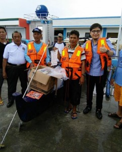Inauguration and Ribbon Cutting of Subic New  Modern Fish Landing Facility (BULUNGAN) (10)