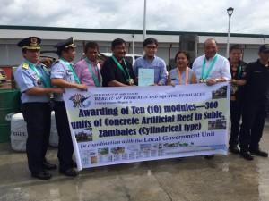 Inauguration and Ribbon Cutting of Subic New  Modern Fish Landing Facility (BULUNGAN) (15)