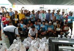 Inauguration and Ribbon Cutting of Subic New  Modern Fish Landing Facility (BULUNGAN) (2)