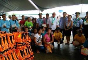Inauguration and Ribbon Cutting of Subic New  Modern Fish Landing Facility (BULUNGAN) (4)