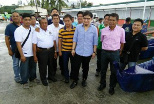 Inauguration and Ribbon Cutting of Subic New  Modern Fish Landing Facility (BULUNGAN) (6)