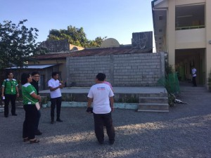 Inspection of On going Project SAN ISIDRO SENIOR CITIZEN BUILDING Subic ,Priority Project Subic Local Government under Mayor Jay Khonghun (1)