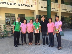 Inspection of On going Project SANTO THOMAS HIGH SCHOOL MULTI PURPOSE HALL SUBIC (1)