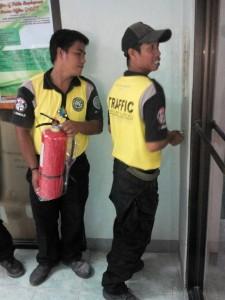 Installation of Fire Extinguishers at Municipality of Subic,Zambales (2)