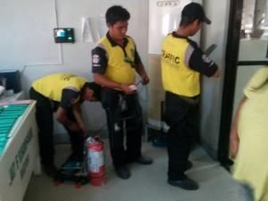 Installation of Fire Extinguishers at Municipality of Subic,Zambales (4)