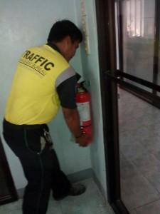 Installation of Fire Extinguishers at Municipality of Subic,Zambales (6)