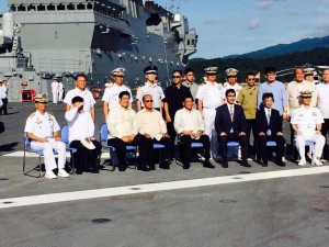 Japanese Warship JS Izumo in Subic (1)