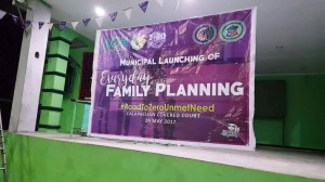 Launching of Everyday Family Planning in Barangay Calapacuan  (1)