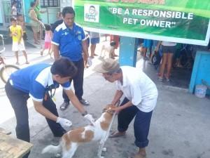 Massive Anti rabbies vacination barangay calapandayan Subic (6)