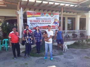 Massive anti Rabbies Vaccination for Dogs and Cats in Magdalena Homes Brgy Sto Thomas Subic (1)