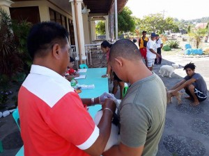 Massive anti Rabbies Vaccination for Dogs and Cats in Magdalena Homes Brgy Sto Thomas Subic (12)