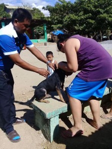 Massive anti Rabbies Vaccination for Dogs and Cats in Resettlement Brgy Manganvaca Subic (8)