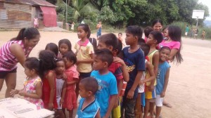 New Year gift giving of Mayor Jay Khonghun in Sitio Tibag Asinan Proper and Sitio Gamaza Calapacuan Subic Zambales