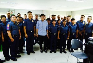 New Recruits ,Subic Police