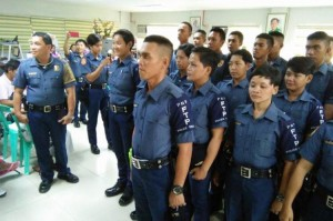 New Recruits,Subic Police (3)