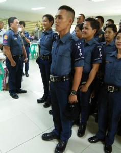 New Recruits,Subic Police (4)