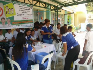School Based Immunization for Dengue in Cabitaugan,Cawag resettlement and Cawag proper Subic (2)