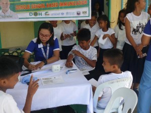 School Based Immunization for Dengue in Cabitaugan,Cawag resettlement and Cawag proper Subic (5)