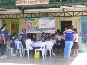 School Based Immunization for Dengue in Cabitaugan,Cawag resettlement and Cawag proper Subic (8)