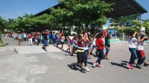 Simultaneous Earthquake Drill at Subic Central School (2)