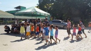 Simultaneous Earthquake Drill at Subic Central School (3)