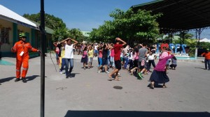 Simultaneous Earthquake Drill at Subic Central School (7)