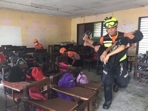Simultaneous National Earthquake Drill  (2)