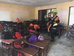 Simultaneous National Earthquake Drill  (5)