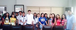 Special Program for Employment of Students(SPES summer job)in Subic with Mayor JAY Khonghun
