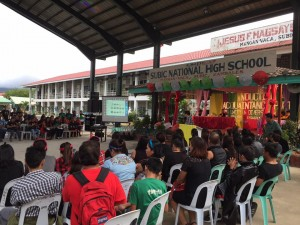 Subic National High School Acquaintance Party and Oath taking of Officers (10)