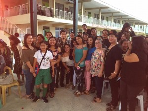 Subic National High School Acquaintance Party and Oath taking of Officers (12)
