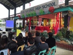 Subic National High School Acquaintance Party and Oath taking of Officers (14)