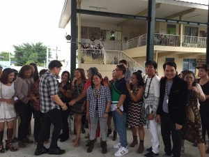 Subic National High School Acquaintance Party and Oath taking of Officers (15)