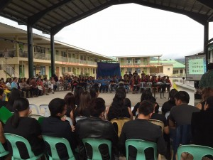 Subic National High School Acquaintance Party and Oath taking of Officers (16)