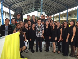 Subic National High School Acquaintance Party and Oath taking of Officers (4)