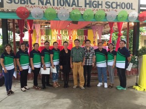 Subic National High School Acquaintance Party and Oath taking of Officers (5)