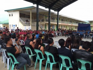 Subic National High School Acquaintance Party and Oath taking of Officers (7)