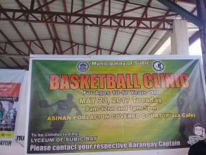 Subic Summer Basketball Clinic Iwas Droga Sa Kabataan (1)