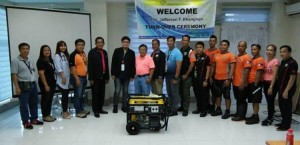Zameco II donates Power Generator to the Subic Fire and Rescue Team (2)