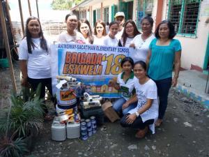 Brigada Eskwela 2018 @ ANINGNAY- SACATIHAN ELEMENTARY SCHOOL