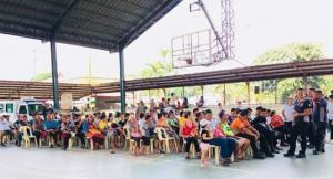 "Day 3 of ""Kalusugan ng Pamayanan, Ating Ingatan"" - Finding the Missing TB Case @ Brgy. Asinan Pob. Covered Court"
