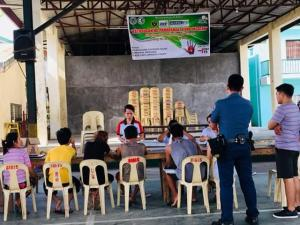 "Day 4 of ""Kalusugan ng Pamayanan, Ating Ingatan"" - Finding the Missing TB Case @ Brgy. Asinan Pob. Covered Court"
