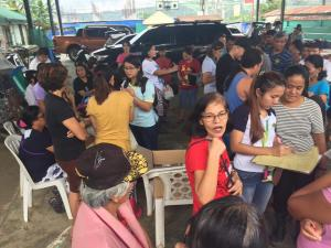 Distribution of Doxycycline Medicines (Anti Leptospirosis) in Barangay Ilwas,Baraca Camachile,Wawandue,Santo Thomas,San Isidro and Calapacuan.